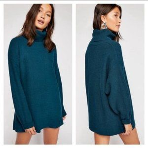 Free People Softly Structured Knit Tunic NWT Large
